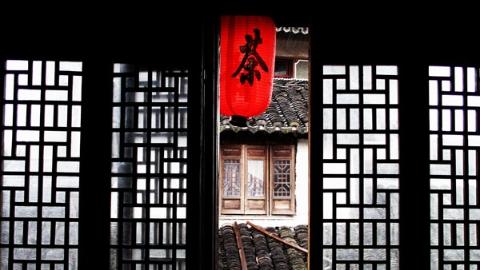 上海老城厢的茶馆