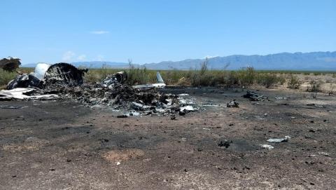 一小型飞机在墨西哥北部坠毁14人死亡