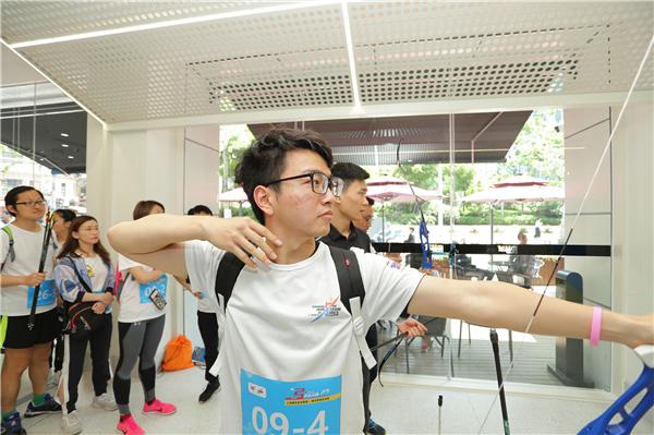 城市业余联赛射箭赛现场 上海市射箭协会供图 (3).jpg