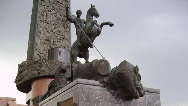 莫斯科胜利纪念碑之美