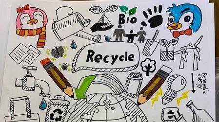 垃圾到底怎么扔?沪五年级小学生倡议:在商品外包装上标注所属垃圾类别