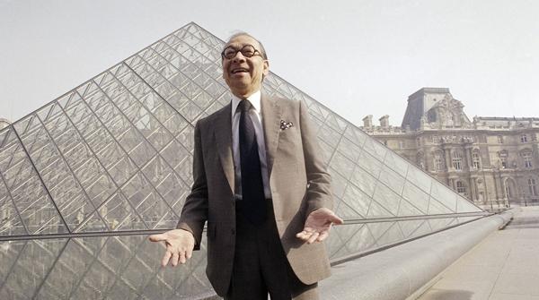 华裔建筑大师贝聿铭去世:中国文化是我的灵感源泉