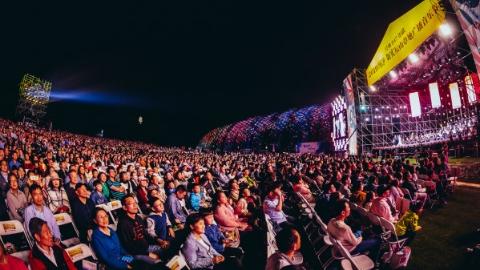 五千人大合唱歌颂新时代 辰山草地广播音乐节今晚精彩继续