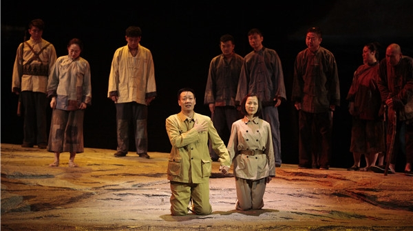 十二艺节丨从人民中来到人民中去,一批百姓点赞的基层干部形象亮相十二艺节舞台
