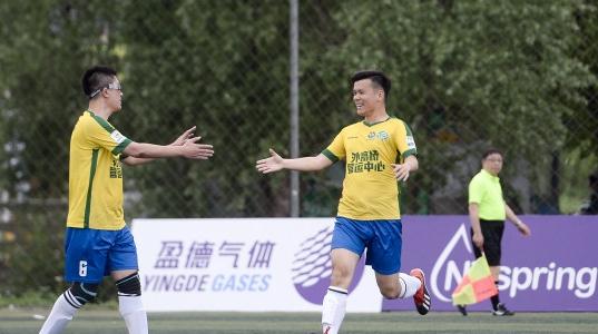 打造浦东业余足球标杆赛事 森兰杯著名企业足球邀请赛火热开踢