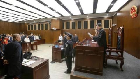上海一中院一审公开宣判黄一川故意杀人案
