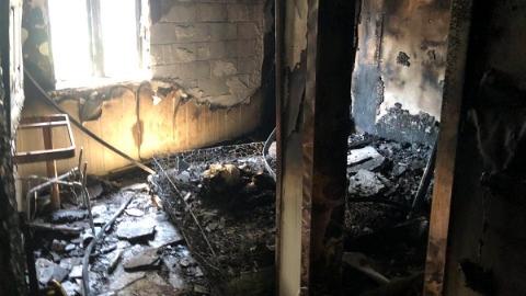 昨天凌晨宝山一酒店发生大火,系男子为情所困纵火!