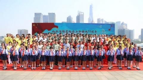 虹口北外滩街道以群众歌咏方式纪念上海解放70周年 聂耳旧居2021年即将修复