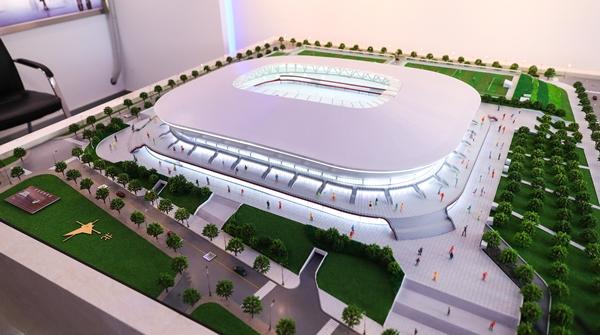 上港新主场已初见雏形!记者探访建设中的上海浦东足球场