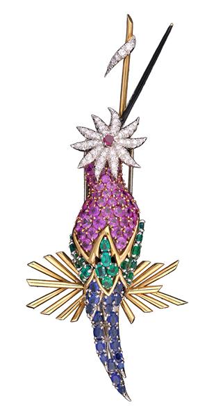 蜂鸟(胸针) 中国国家博物馆供图.JPG