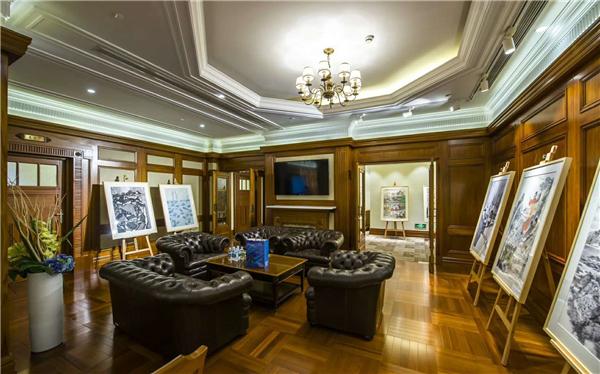外滩12号历史建筑首次举办水墨展览.jpg