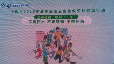 """上海启动全市防蚊灭蚊专项行动 做到""""三不"""":不剩积水、不堆杂物、不留死角"""