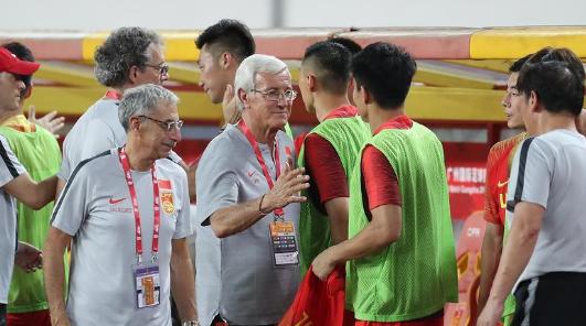 """里皮回归首秀中国队2比0轻取菲律宾队,他要的""""新国足""""新在哪?"""