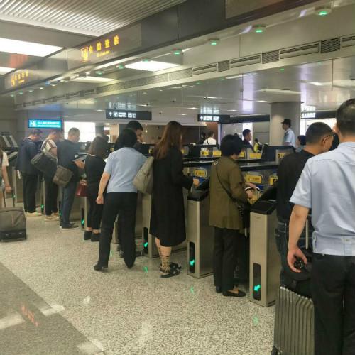 端午假期首日 虹桥机场全天出入境客流同比增长6%