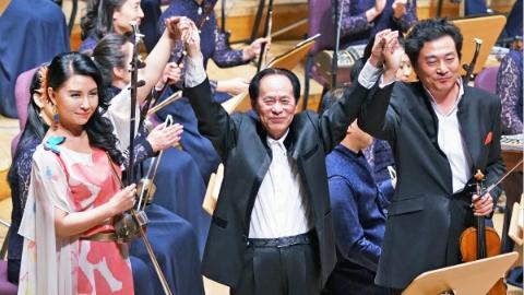 《何占豪作品音乐会》用60年民乐代表作展现60年民族记忆
