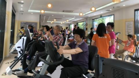 大数据、人工智能大量应用 徐汇区首家智慧社区健身中心今启用
