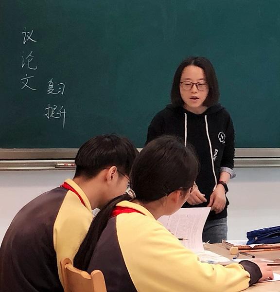 新云台中学为仅有9名中考生定制了9张复习课表