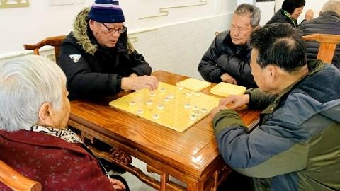 幸福弄堂:黄渡老人们的一处快乐港湾