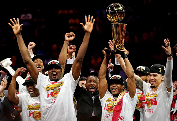 总冠军是猛龙!NBA成立73年来,首次由非美国本土球队夺冠