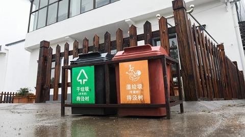 """每户都是""""桶长""""每周轮流""""值日"""" 金山朱泾镇创新农村生活垃圾分类"""