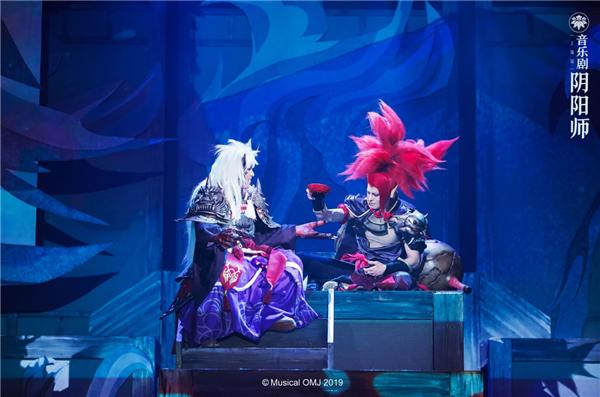 音乐剧《阴阳师》第二季开启巡演,玉藻前、鬼切降临舞台
