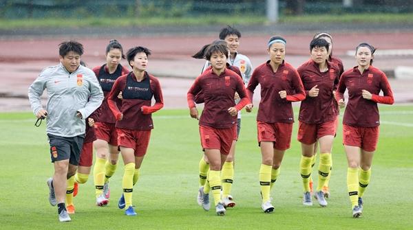 淘汰赛对手未定,中国女足蛰伏原地静心等待