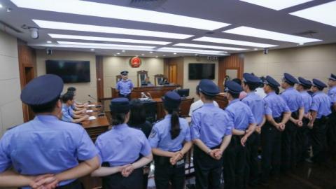 上海法院深入推进扫黑除恶专项斗争 黑恶案件重刑率为35%