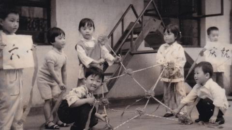 邻距离|晒晒我家老照片:简单快乐的儿童节