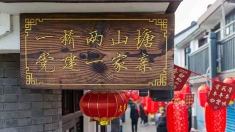 """郊野大地丨沪浙""""毗邻党建""""十村联盟启动,""""串珠成链""""推动乡村振兴"""