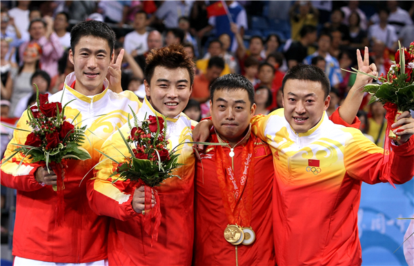 """乒乓世界(2008年奥运会上的""""二王一马""""王励勤、王皓、马琳).jpg"""
