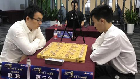 """全国象棋甲级联赛第六轮 上海金外滩队""""二连胜"""""""