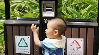 """实力参与上海生活垃圾分类 90后乐于网上发布""""笔记""""分享经验"""