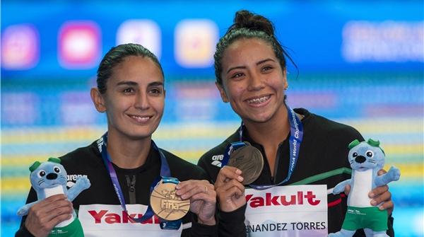 摘得女子双人三米板铜牌,埃斯皮诺萨:睡得好才能表现好