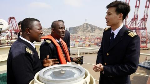 """上海港引航站迎来第二批""""非洲徒弟"""" 加纳同行来沪""""取经"""""""