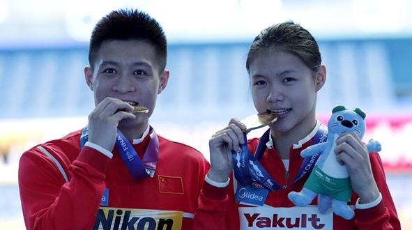 中国首夺跳水混合团体金牌!而这冠军始于一次参观……