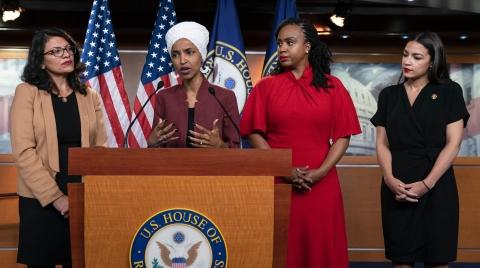 美众院谴责特朗普发表种族主义言论