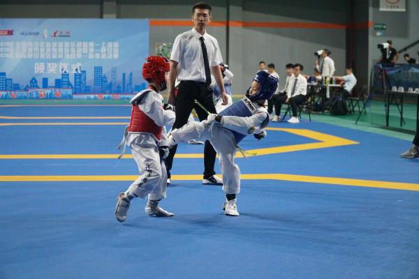 跆拳小将齐聚上海 全国俱乐部联赛上海揭幕