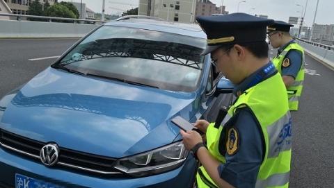 大数据技术让非法网约车无所遁形 昨天24辆非法网约车被查