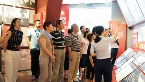 上海市国防教育协会开展会员日专题活动:追忆历史 缅怀英烈