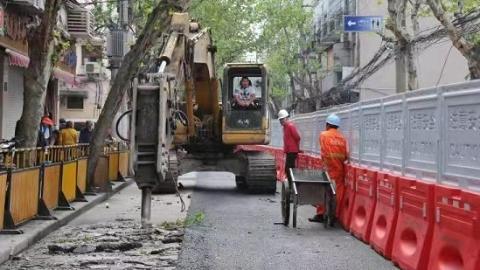 上海今年首个道路积水改善项目建成 合肥路(马当路-顺昌路)暴雨积水将缓解