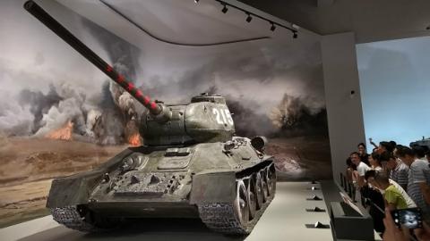 探访军博最新陈列:数千件军事文物诉说红色记忆