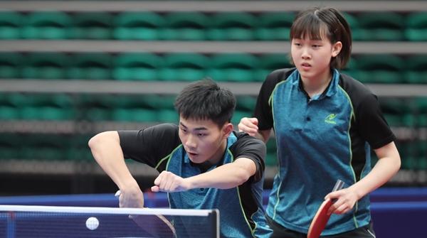 上海队夺得青运会乒乓球体校甲组混双冠军,以弱胜强的秘诀是……