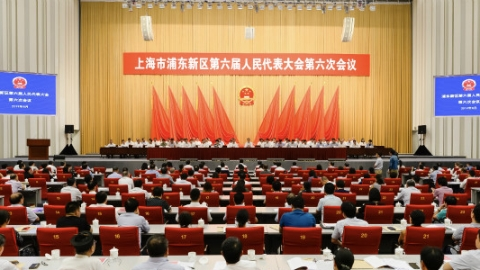 """浦东:""""六大硬核产业""""成为推动高质量发展新增长点"""