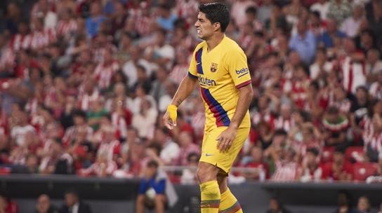 梅西缺阵苏亚雷斯伤退 巴萨新赛季西甲首战遭绝杀