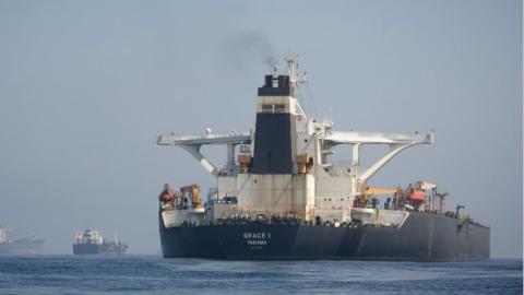 放了又扣?伊朗油轮在英获释次日 美国再发扣押令