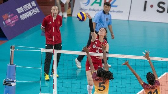 二队出征!中国女排亚锦赛取得开门红
