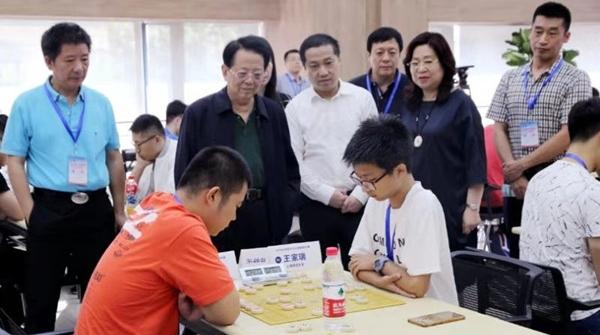 全国大学生象棋大赛上午在沪开幕