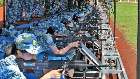 热血的青春励志的军魂 4065名上海交大学子军训感受蜕变