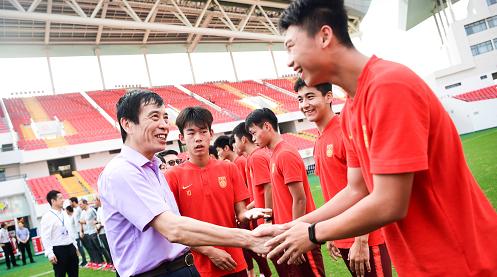陈戌源当选中国足协主席后,第一站调研选在了这里