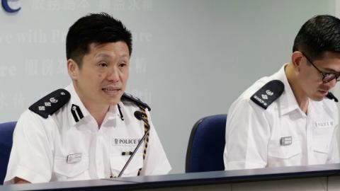 香港警方:暴力冲击毫无底线 市民记者也受牵连